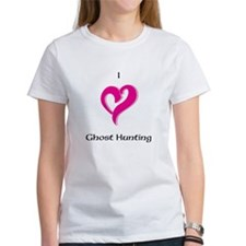 I Love Ghost Hunting Tee