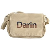 Darin Stars and Stripes Messenger Bag