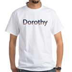 Dorothy Stars and Stripes White T-Shirt