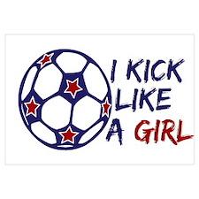 Kick Like A Girl Soccer