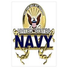 US Navy Gold Anchors