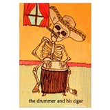 The Drummer and his cigar.