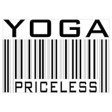 Yoga Priceless Bar Code