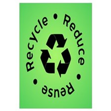 Reduce Reuse Recycle (green)