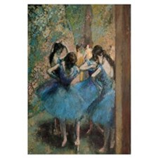 Cute Ballet degas Wall Art