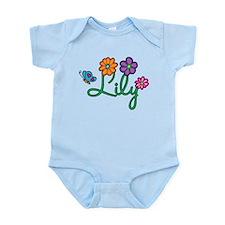 Lily Flowers Infant Bodysuit