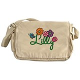 Lilly Flowers Messenger Bag