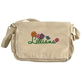 Lilliana Flowers Messenger Bag