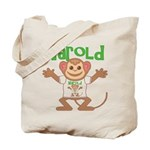Little Monkey Harold Tote Bag
