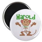 Little Monkey Harold Magnet