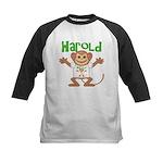 Little Monkey Harold Kids Baseball Jersey