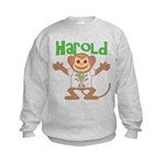 Little Monkey Harold Kids Sweatshirt