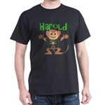 Little Monkey Harold Dark T-Shirt