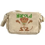 Little Monkey Harold Messenger Bag