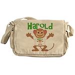 Little Monkey Harold Messenger Bag