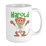 Little Monkey Harold Large Mug