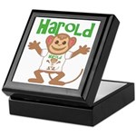 Little Monkey Harold Keepsake Box