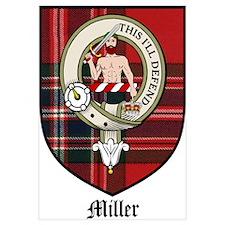 Miller Clan Crest Tartan