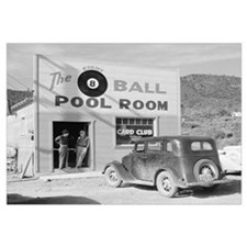 The Eight Ball Pool Room, 1940
