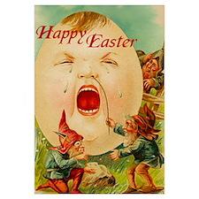 "Easter Egg-Boy 11""x17"" BIG Print"