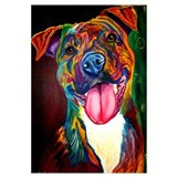 Funny Pit bull Wall Art
