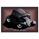Funny Hotrods Wall Art