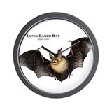 Long-Eared Bat Wall Clock