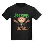 Little Monkey Jeremy Kids Dark T-Shirt