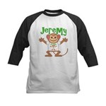 Little Monkey Jeremy Kids Baseball Jersey