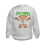 Little Monkey Jeremy Kids Sweatshirt