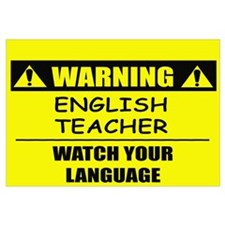 WARNING: English Teacher