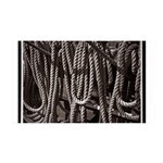 Ropes for the Rigging BW2 38.5 x 24.5 Wall Peel