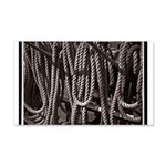 Ropes for the Rigging BW2 22x14 Wall Peel