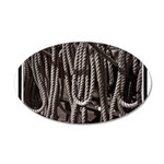 Ropes for the Rigging BW2 38.5 x 24.5 Oval Wall Pe