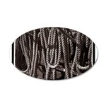 Ropes for the Rigging BW2 22x14 Oval Wall Peel