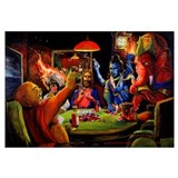 Gods Playing Poker