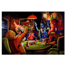 Gods Playing Poker