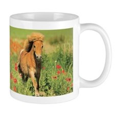 Mini Shetland Pony Horse Lover Coffee Mug