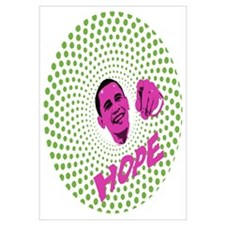 Psychedelic Obama Change