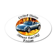 Pontiac Solstice Large Oval Wall Peel