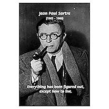 Existentialist Jean-Paul Sartre