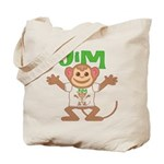 Little Monkey Jim Tote Bag