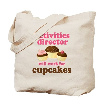 Funny Activities Director Tote Bag