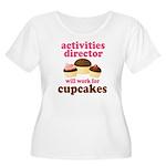 Funny Activities Director Women's Plus Size Scoop