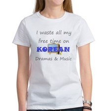 I waste all my time on Korean Tee