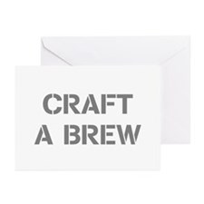 Craft A Brew Greeting Cards (Pk of 10)
