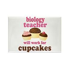 Funny Biology Teacher Rectangle Magnet