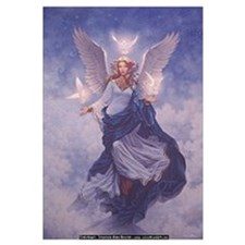 Funny Angel Wall Art