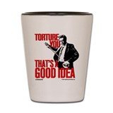 Reservoir Dogs Torture You Shot Glass