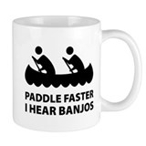 Paddle Faster Small Mug